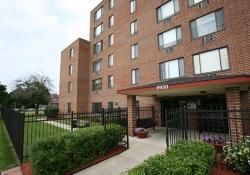 Lafayette Terrace Apartments building entrance