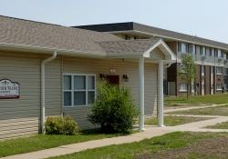 Crestview Village Apartments (IL) office exterior